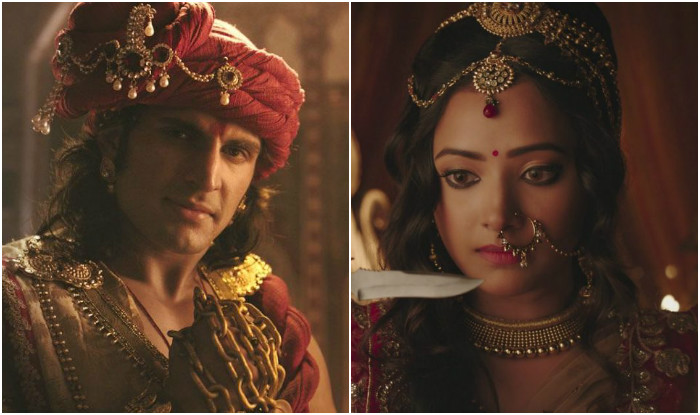 ChandraNandini: Chandra greeneyed with Nandini Malayketu romance